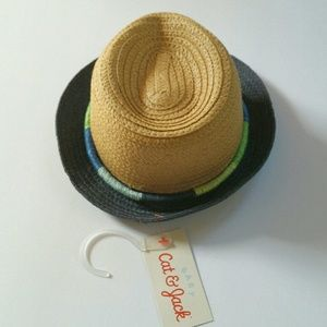 e232821e122 Cat   Jack Accessories - NWT Cat   Jack Baby Straw Fedora
